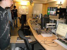 Studio-Regie beim WDR Bielefeld