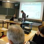 HSG-Trainer Andre Fuhr in Lehrerkonferenz