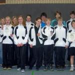 Die erfolgreichen Mannschaften des HVG mit ihren Betreuern R. Klöpping und A. Schwarze