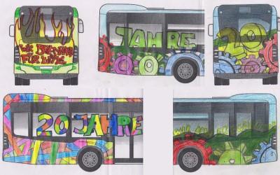 Jahrgangsstufe 7 gestaltet Lippemobil-Bus (1)